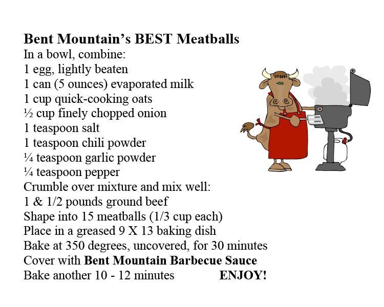 Microsoft Word - Meatball Recipe Card.doc